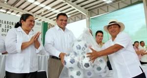 Se distingue cercanía de Rolando Zapata en los municipios: Geny Otilia