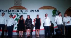En Umán como en Yucatán los compromisos se cumplen: Jesús A. Quintal Ic