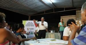 Fomenta Gobierno del Estado participación ciudadana a través de Talleres