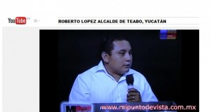En Teabo avanzamos gracias al apoyo del GobYucatán: Roberto López