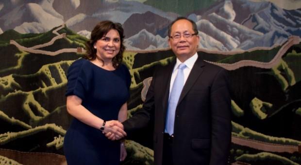 Ivonne Ortega se reúne con embajador de China