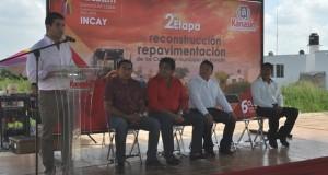 INCAY inicia segunda etapa de construcción y conservación de calles en Kanasín