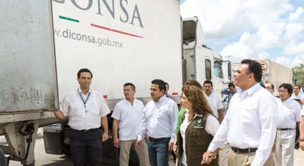 """Manda Yucatán 78 toneladas de ayuda a afectados por  """"Odile"""""""