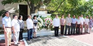 Conmemoran 57 aniversario luctuoso del ilustre poeta Antonio Mediz Bolio
