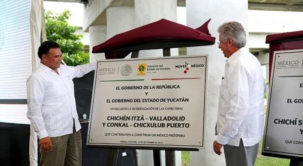 Gobierno federal y de Yucatán invierten en más distribuidores viales en Mérida