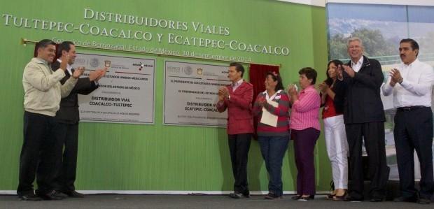EPN entrega distribuidores viales Tultepec – Coacalco y Ecatepec – Coacalco