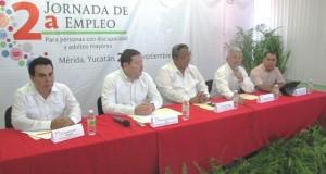 Anuncian jornada del empleo para personas con discapacidad en Yucatán