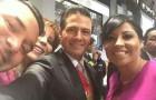 Renán Barrera se cuela en selfie del Presidente EPN