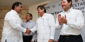 Refrenda Gobierno de Yucatán trabajo en unidad con el sector obrero-patronal