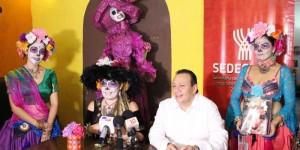 """Bailes, teatro y gastronomía en II Festival """"Noche de Catrinas"""""""