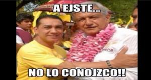 """""""A ejte (alcalde prófugo de Iguala) no lo conojco"""" … una mentira más de AMLO"""
