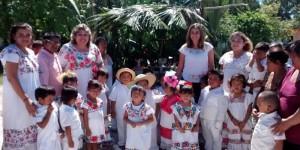 Coespo e Indemaya fomentan la tradición del Hanal Pixán