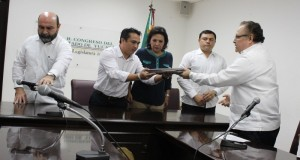 Congreso de Yucatán recibe 3 iniciativas en materia del nuevo sisitema de justicia penal