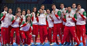 México rebasa las 100 medallas en JCC 2014
