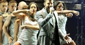 Ricky Martin arma una fiesta en el Coliseo Yucatán