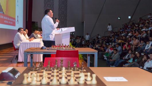 """Inauguran XXVI edición del Torneo Internacional de Ajedrez """"Carlos Torre Repetto"""""""