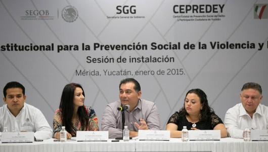 Es primordial reforzar la seguridad en Yucatán: Víctor Caballero