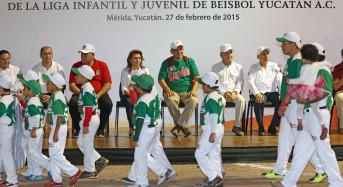 Anuncia el Gob. Rolando Zapata construcción de campo de béisbol profesional