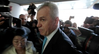 Javier Aguirre llega a juzgado de Valencia a comparecer