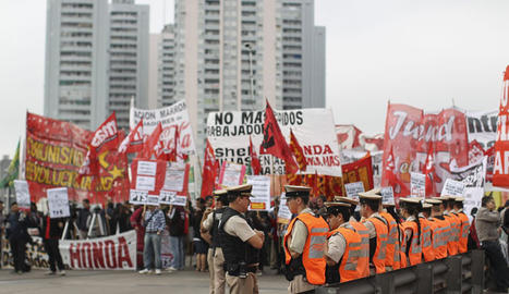 Sindicatos argentinos sostienen huelga nacional contra gobierno