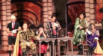 Con gran éxito del Tenorio Cómico en el Teatro Armando Manzanero