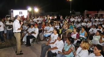 Ciudad Caucel recibe con entusiasmo a Nerio Torres Arcila