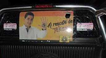 Actos vandálicos en contra Diego Ávila