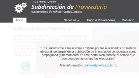 AyuntaMérida esconde en su portal, relación de pago a proveedores