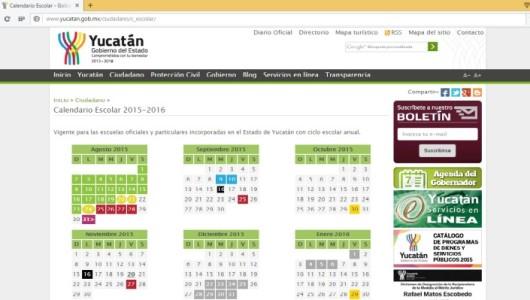 Modifica SEGEY entrada al nuevo ciclo escolar: 31 de agosto