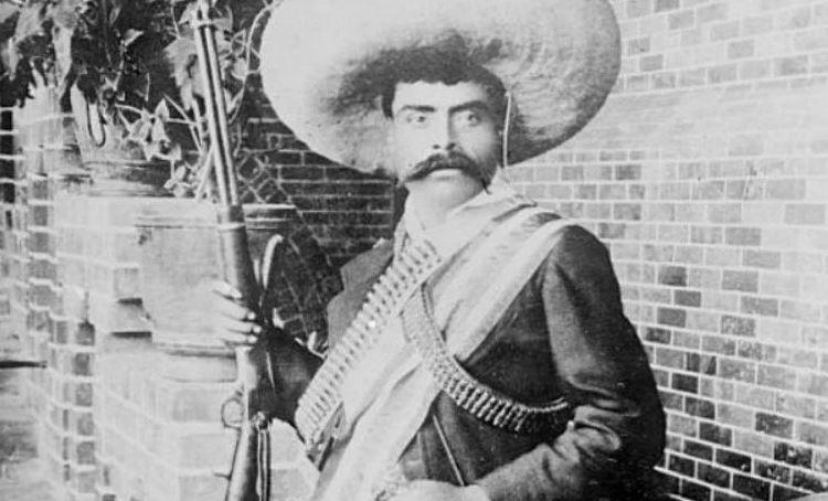 Ceremonia Recuerdan Natalicio Emiliano De Izamiento En Zapata erdoxCB